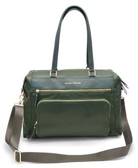 The Briggs Bag - in Hunter Green