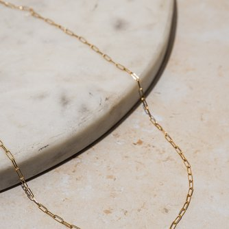 Petite Paperclip Chain