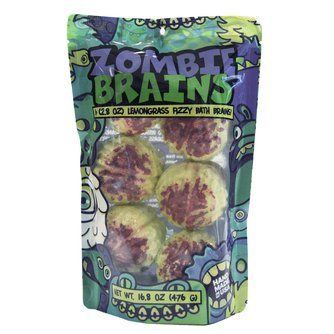Zombie Brains Bath Bombs