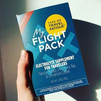 My Flight Pack - taking on jet lag