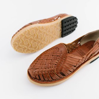 Ana (Handwoven Leather Huarache Sandals)