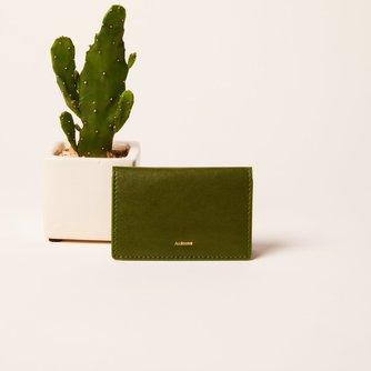 Green Cactus Bifold Cardholder