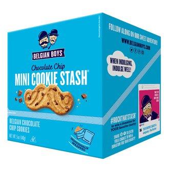 Chocolate Chip Mini Cookie Stash