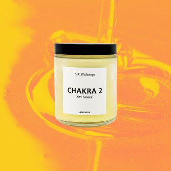 Chakra Healing Lotion Candle Number 2