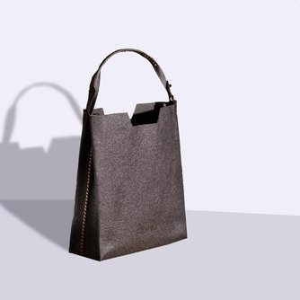 VOLTA Tall Tote with Signature NILE Short Handle