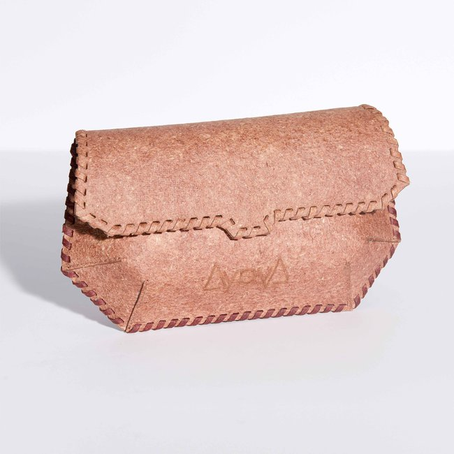 Aiya ayiA MOMELA belt bag in baie rose_front