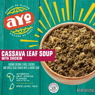 Cassava Leaf Soup