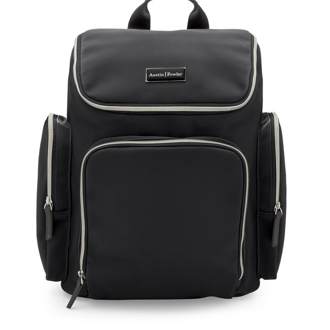 Austin   Fowler francesca black backpack1.jpg