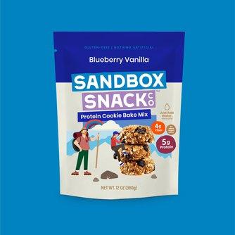 Sandbox Snack Co. - Blueberry Vanilla Protein Cookie Mix