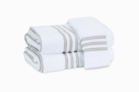 Beach Road Towel - Tan Stripe