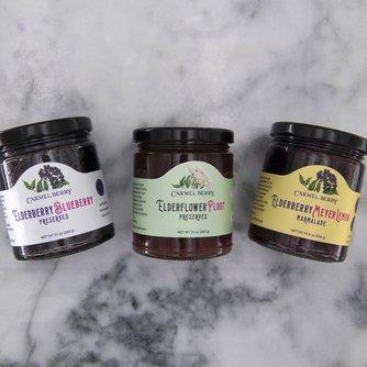 Elderberry Preserves and Marmalade