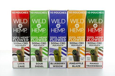 CBD Cigarillos by Wild Hemp