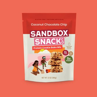 Sandbox Snack Co. - Coconut Chocolate Chip Protein Cookie Mix
