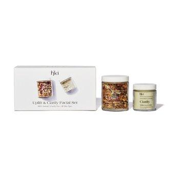 Klei Uplift & Clarify Facial Set | Clay Mask & Facial Steam Skincare Gift Set