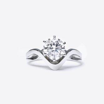 Clio Diamond Engagement Ring