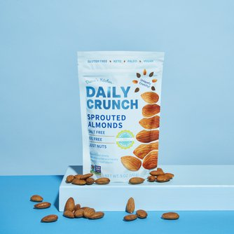 Daily Crunch Snacks Sprouted Almonds