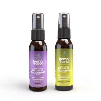 Natural Deodorant Spray | Lemongrass & Tea Tree + Lavender | 2oz (2-Pack)