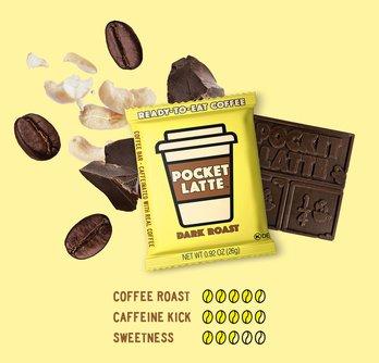 "Pocket Latte ""Dark Roast"" Coffee Bar"