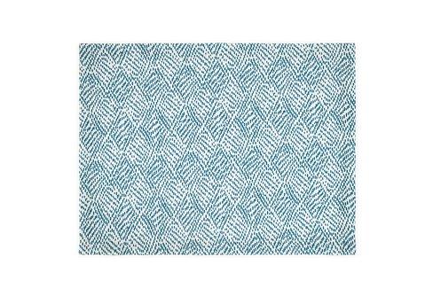 Matouk Schumacher - Duma Diamond Tablecloth - Blue