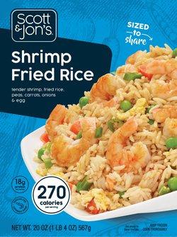 Shrimp Fried Rice Steamable Meal
