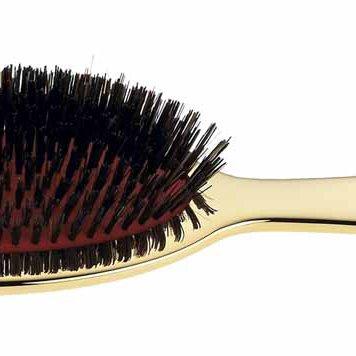 Gold Large Natural Bristle Paddle Brush.jpg