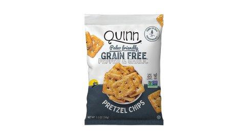 Grain Free Pepper & Garlic Pretzel Chip