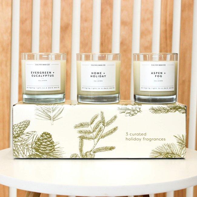 Holiday Tumbler Candle Gift Set - Calyan Wax Co..jpg