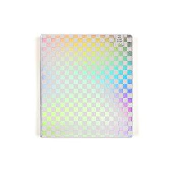 "1"" Binder - Holographic Checker"