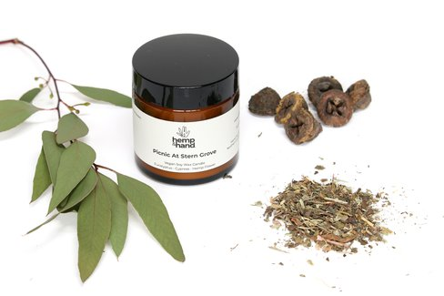 Hemp Soy Candles | Lavender & Peppermint + Eucalyptus & Cypress | Combo Pack