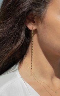 Valentino Chain Drop Earrings