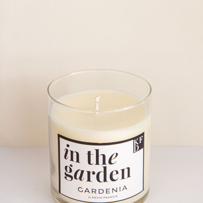 In the Garden - Gardenia Scented Candle