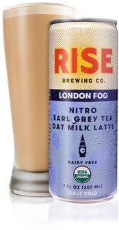 London Fog Nitro Earl Grey Tea Oat Milk Latte