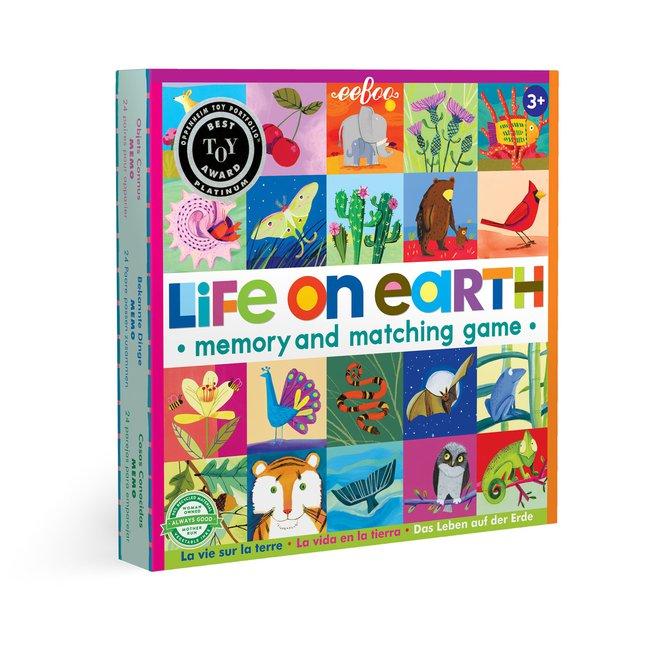 Life on Earth memory game