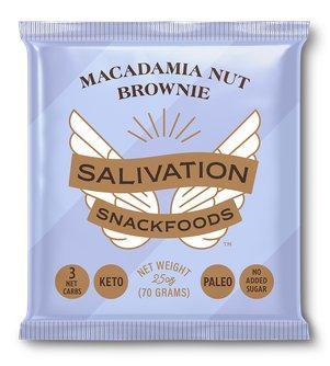 Keto Macadamia Nut Brownie