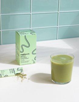 Vegan Matcha Collagen Boost Latte Stick Packs
