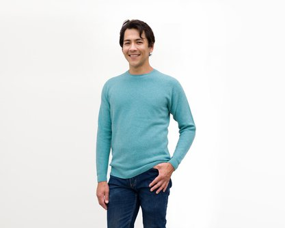 Limited Edition Emerald Blue Sweater - The Jewel of the Sierras