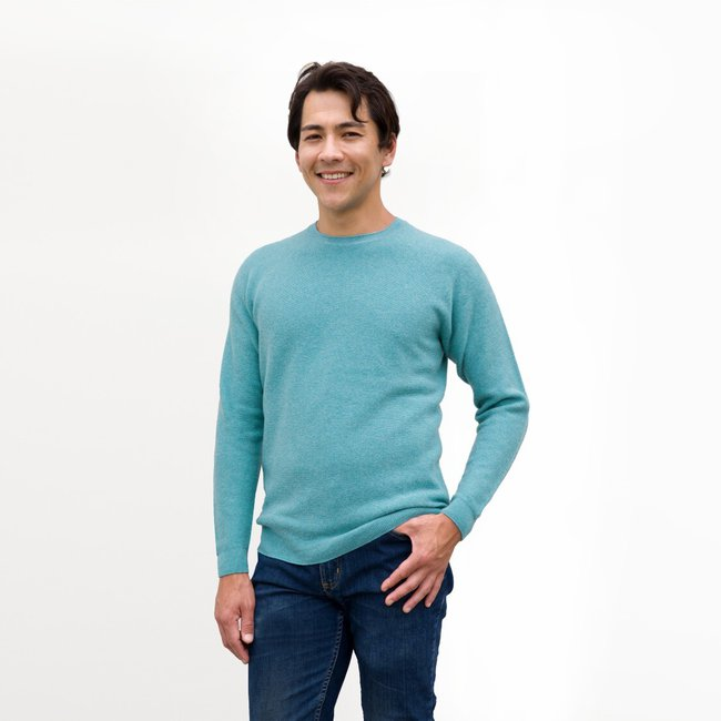 OLIVER-CHARLES-Limited-Edition-Emerald-Blue-Crew-Neck-Sweater-Smart-Casual-Sweater-For-Daily-Wear-WHOLEGARMENT-3D-Knit-Merino-&-Yak-Wool-Khullu-2.jpg