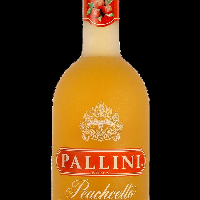 Pallini Peachcello 750ML Bottle Shot.png