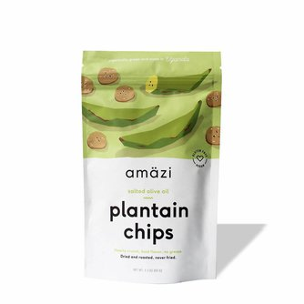 Salted Olive Oil Plantain Chips