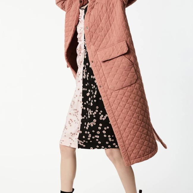 Puff Sleeve Quilted Duster Jacket .png