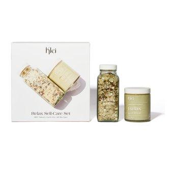 Relax Self-Care Set | Bath Soak & Body Scrub Gift Set