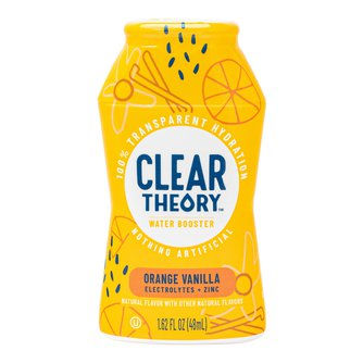 Clear Theory Orange Vanilla Water Booster