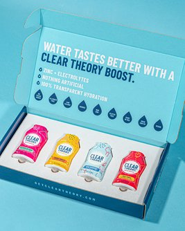 Clear Theory Water Booster Variety Pack