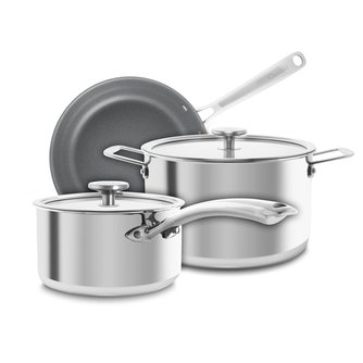 3.Clad™ Multi-Ply Stainless Steel Cookware