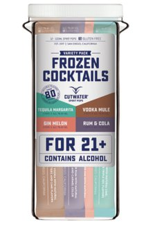 Frozen Cocktail Spirit Pops
