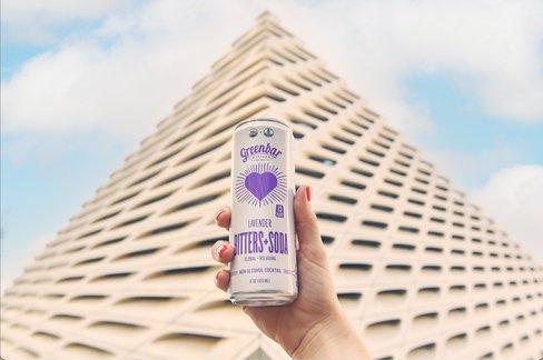 Lavender Bitters+Soda