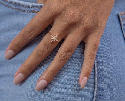Sora Star Diamond Ring