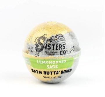 Lemongrass Sage Bath Butta' Bomb
