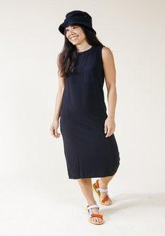 Sophie Tencel Tank Dress