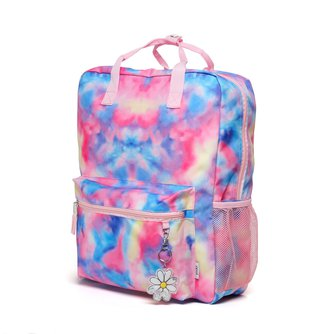 Tie-Dye Rectangle Backpack